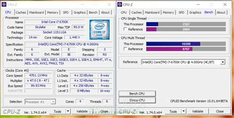 bench cpu gigabyte z170x gaming 7 motherboard review