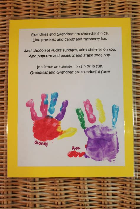 grandparents day craft ideas for keeping up with the kiddos grandparents day card