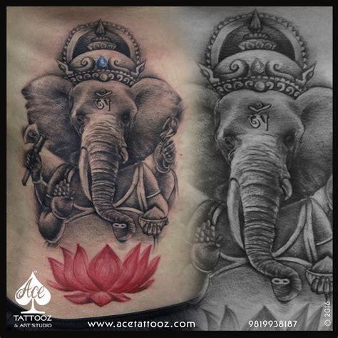 ganesha tattoo cultural appropriation lord ganesha tattoos ace tattooz art studio mumbai india