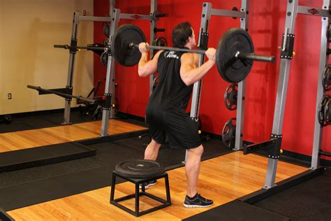bench and squat workout barbell squat to a bench how to do it video of