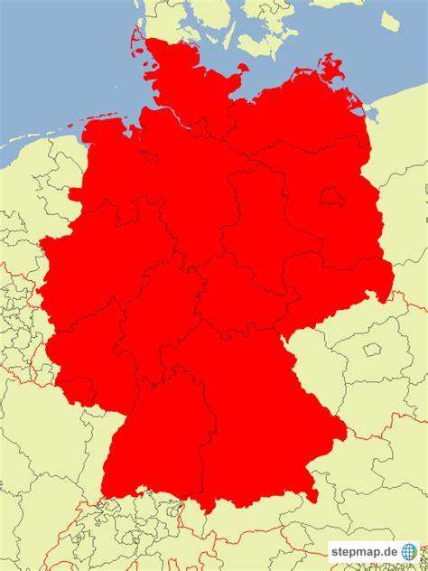 Deutsches Büro Grüne Karte Formular by Deutschlandkarte Mit Bundesl 228 Ndern Nikosik Landkarte