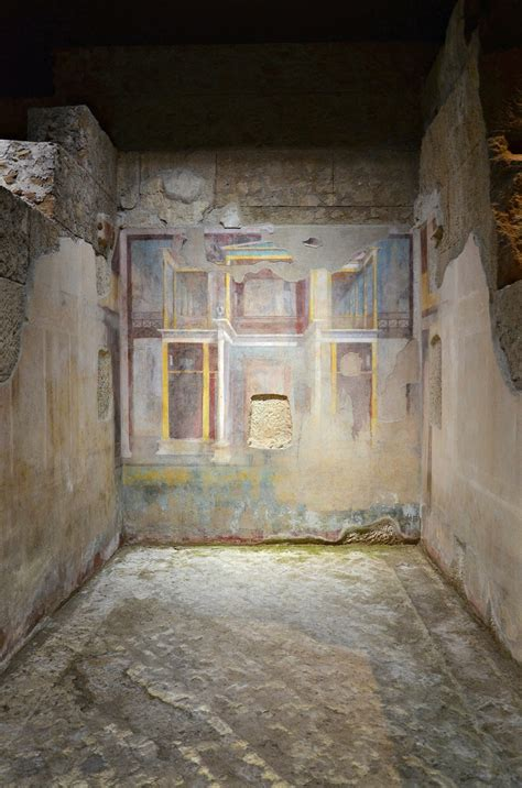 the room palatine when in rome visiting the house of augustus on the palatine hill following hadrian