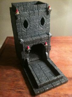 printable dice tower my second favorite piece of terrain a dice roller tower