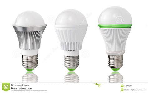 Energy Saving Lighting,new Type LED Bulb Evolution Lighting Energy Saving Stock Illustration