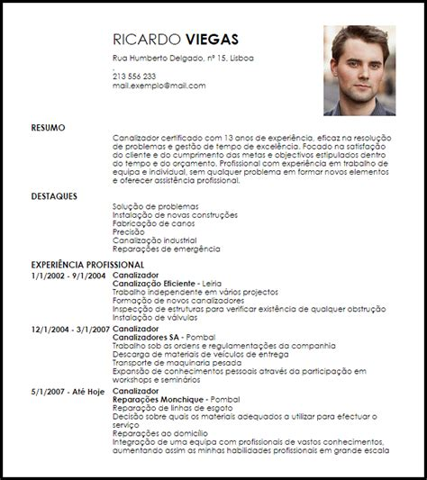 Modelo De Curriculum Vitae Trackid Modelo Curriculum Vitae Canalizador Livecareer