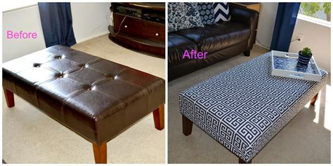 how to reupholster an ottoman quick and simple diy reupholster ottoman editeestrela design