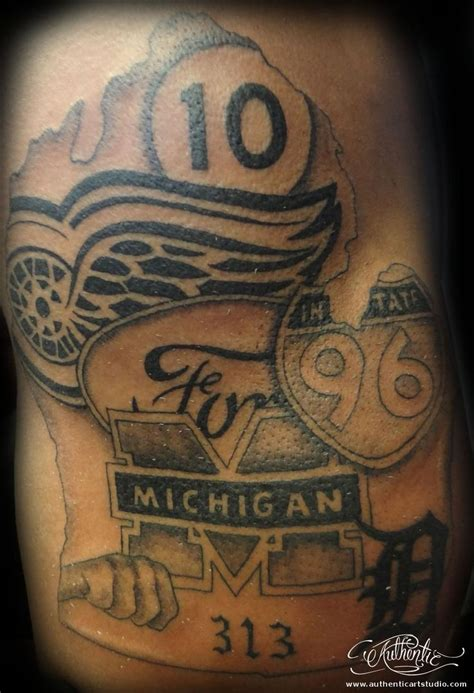 michigan tattoo designs michigan ideas search go blue