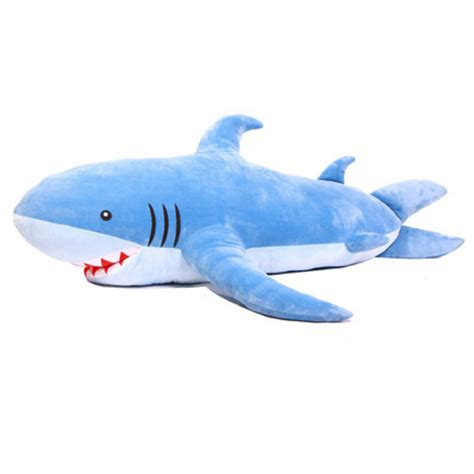 giant shark plush opentip com gogo 70 quot unique huge shark stuffed plush toy