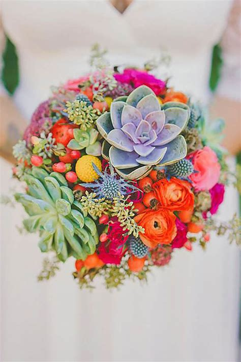 Wedding Bouquet Unique by 25 Creative And Unique Succulent Wedding Bouquets Ideas
