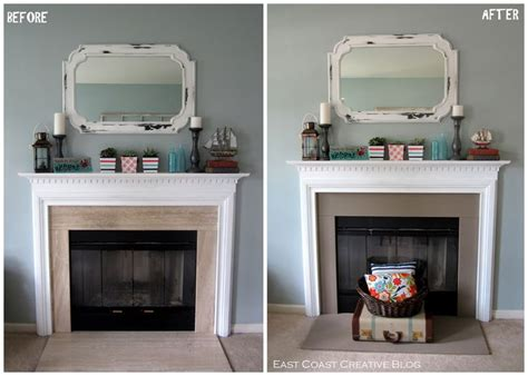 simple fireplace upgrade sloan chalk paint east