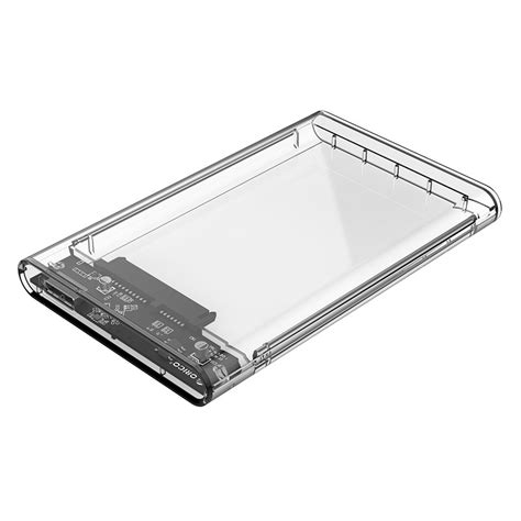 orico 2 5 inch orico 2 5 inch transparent usb3 0 drive enclosure