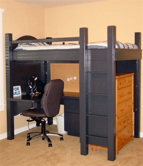 Bed With Computer Desk Underneath 1000 Ideas About Bed With Desk Underneath On Lofted Beds Bunk Bed With Desk And
