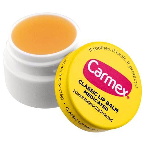 Lip Balm carmex classic lip balm medicated 0 25 oz 7 5 g