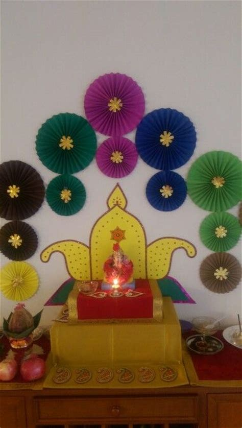 Wedding Home Decorations Indian 265 best decoration for pooja images on pinterest