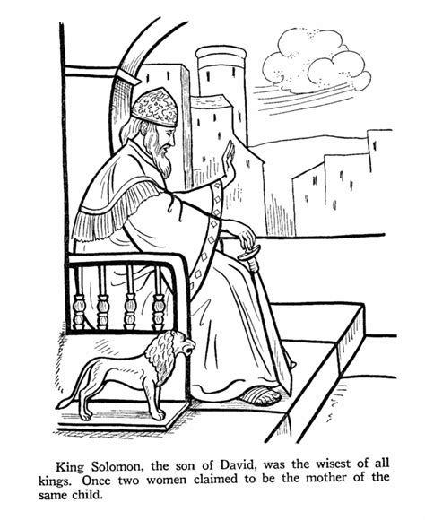 coloring pages about king david bible coloring pages king david coloring home