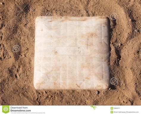 Home Plate Baseball 1st base stock image image 2865011