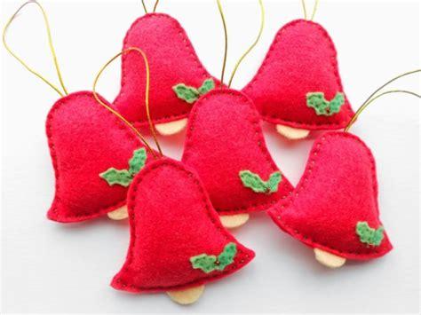 adornos arbol de navidad adornos de fieltro para decorar tu casas estas navidades