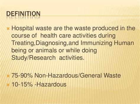 Sharp Kitchen Knives hospital waste management