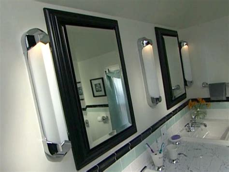 how to install bathroom lights and medicine cabinets how