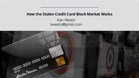 how to make money with stolen credit cards how the stolen credit card black market works