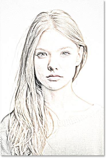 sketch free portrait photo to pencil sketch with photoshop cs6 tutorial