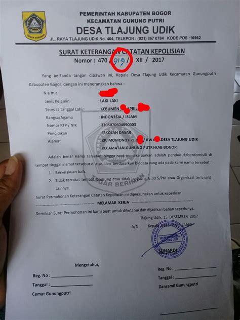 pembuatan skck luar daerah parah membuat surat skck dipungut biaya rp 50 ribu