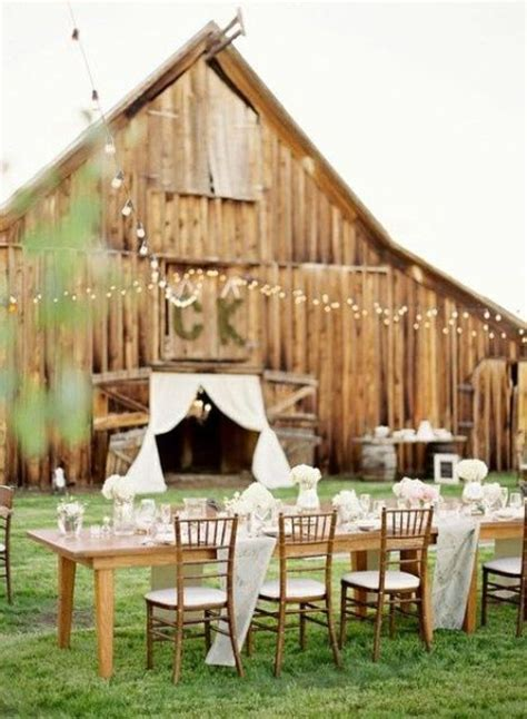 cool barn ideas 37 cool outdoor barn wedding ideas weddingomania