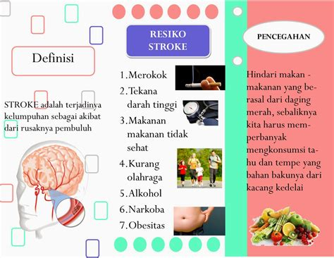 format askep penyakit stroke leaflet stroke asuhan keperawatan