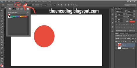 Cara Membuat Garis Di Adobe Photoshop Cs6 | tutorial membuat kotak bulat garis segienam segitiga