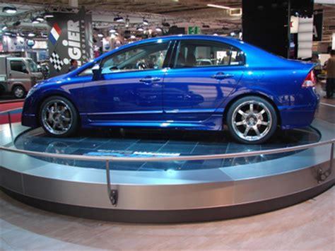 paris motor show: honda civic hybrid sports concept car