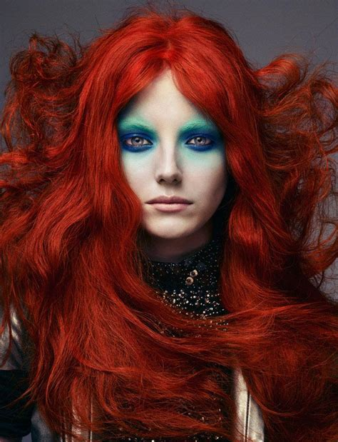 get pin up red hair color keep it vibrant witch mermaid makeup fantasy cosplay pinterest