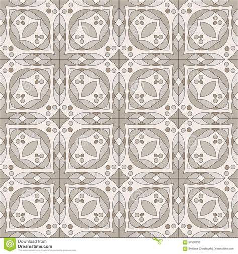 brown pattern tiles brown ceramic tile stock vector image 58506933