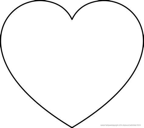 Kostenlose Vorlage Herz Ausmalbilder Herzen