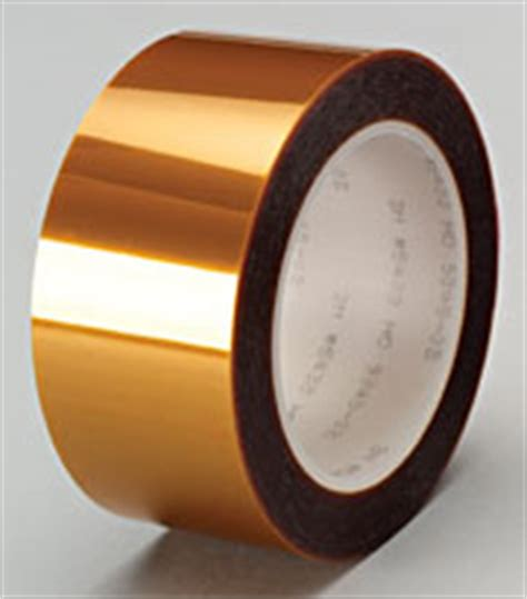 adhesive tapes, single and double coated, nonconductive