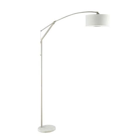 coaster arch floor lamp  chrome ebay