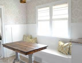 how to make a breakfast nook diy built in bench breakfast nook love the tompkins