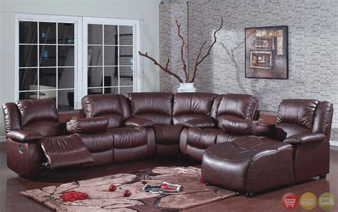 Leather Reclining Sofa With Chaise Leather Reclining Sectional With Chaise 28 Images Brown Leather Match 6 Right Chaise Power