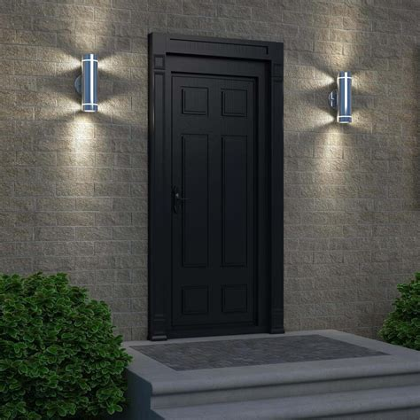 Attractive Led Outdoor Wall Light All Home Design Ideas Patio Wall Lighting
