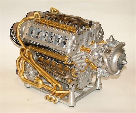 working mini v8 engine kit 18 cylinder 2 stroke model engine