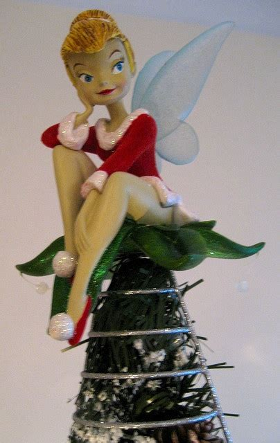 disney tree toppers for christmas trees 50 best tinkerbell tree images on tree trees and