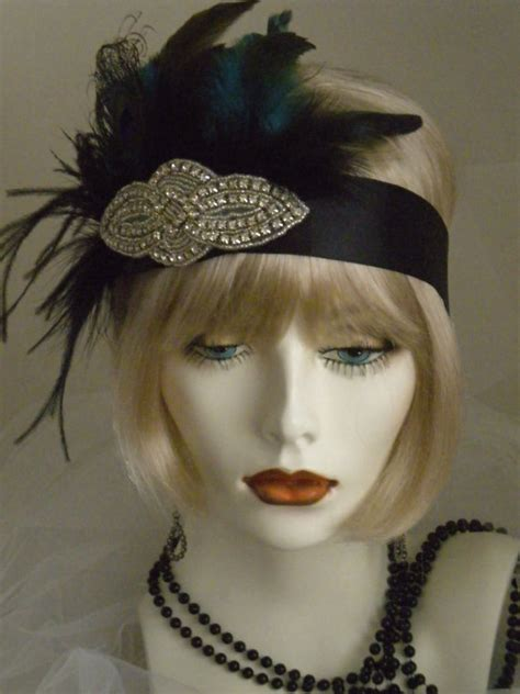 How To Make 1920s Headpieces | 1920s headpiece flapper headband gatsby by