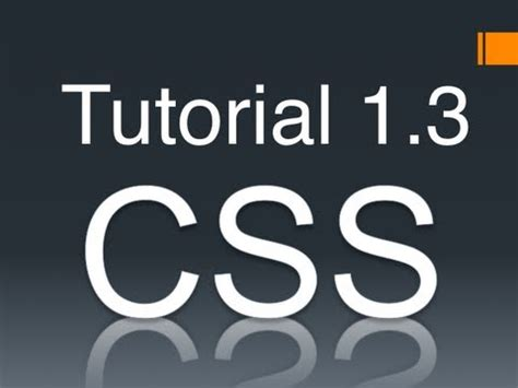 tutorial css font css tutorial 1 3 specifying typefaces font families