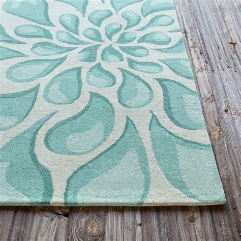 aqua designs stella collection tufted area rug in beige light