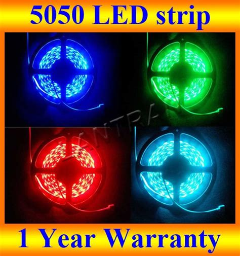 hot sale 150 leds 5m 5050 rgb waterproof 12 volt led strip