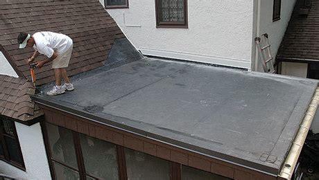 installing   slope epdm roof fine homebuilding