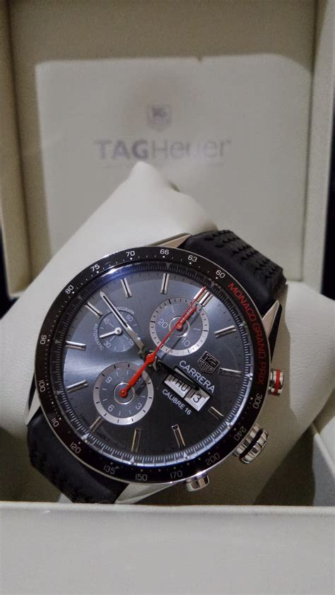 Jam Tangan Tagheuer 91 tag heuer carerra calibre 16 gp monaco limited edition sold