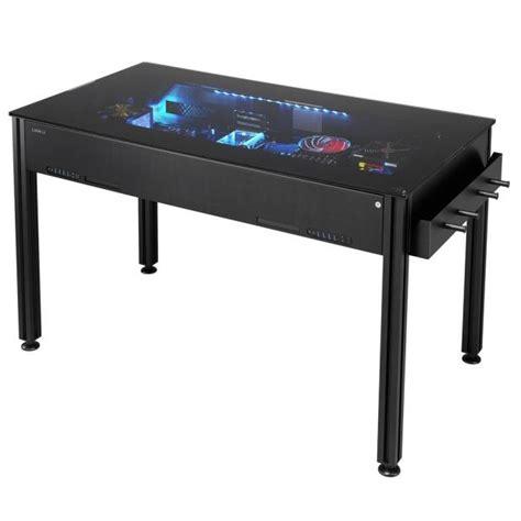unusual desks lian li hopes consumers at computex like its unique desk pcs