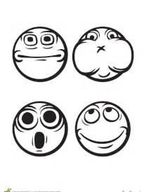 Coloriage Smiley Ou 233 Motic 244 Nes Sur Hugolescargot Com Tire La Langue Pleure Etonne Serre Les Dent Coloriage Smiley Sourire Timide Dents Cassees Pas Content He L