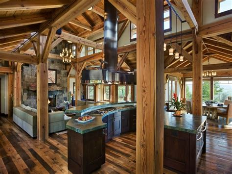 rustic open floor plans with loft best open floor plans rustic living room kitchen open floor plans shabby chic