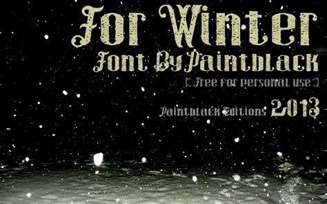 dafont winter for winter font dafont com